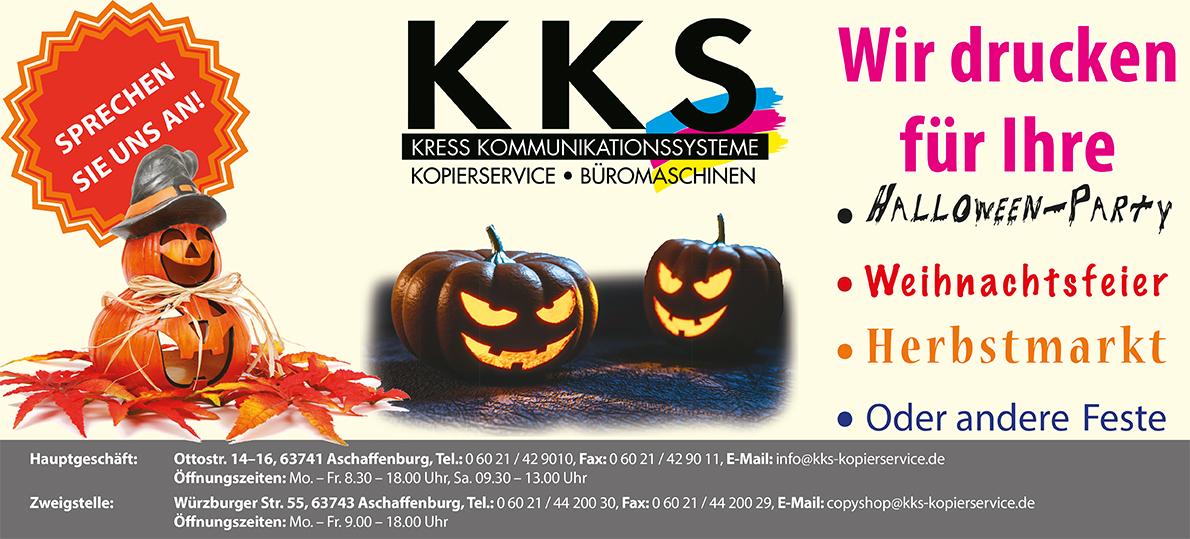 KKS Copyshop in der Würzburger Straße in Aschaffenburg