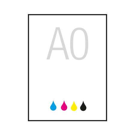 A0 (1189mm x 841 mm)
